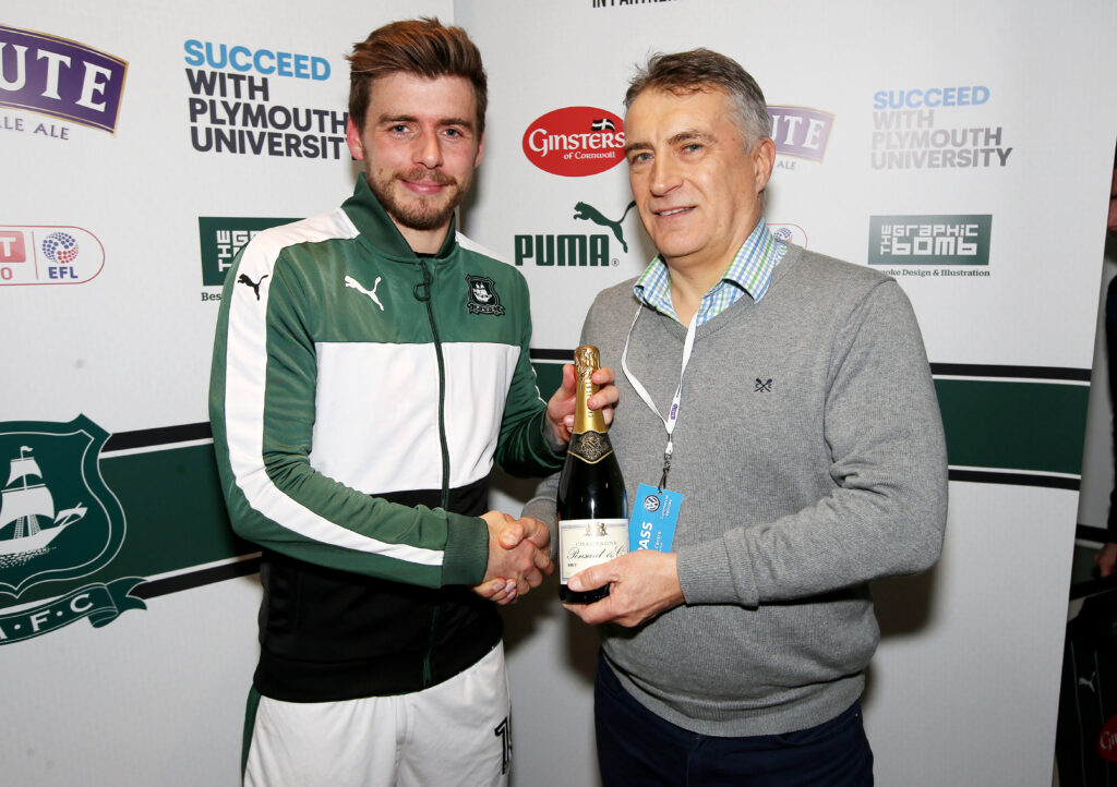 Firebird – Plymouth Argyle Man of Match