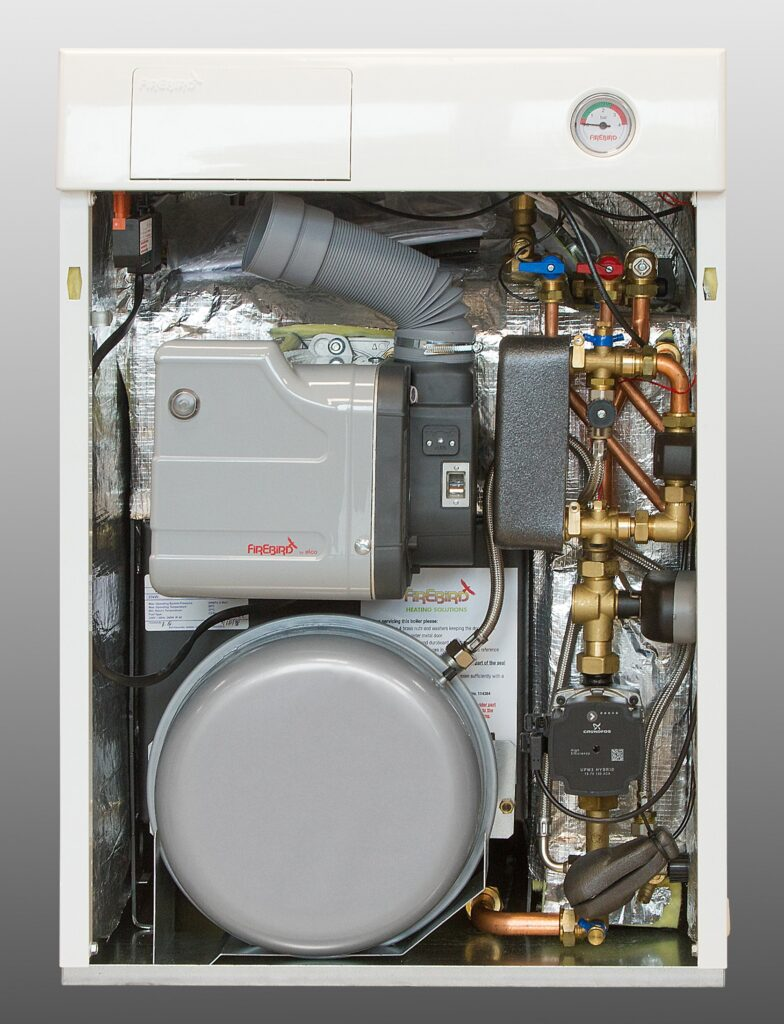 Firebird-Envirogreen-Combi-Boiler-With-elco-Low-NOx-Burner